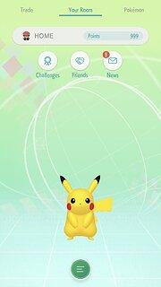 Pokémon HOME - snímek obrazovky