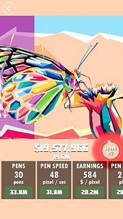 Idle Painter - snímek obrazovky