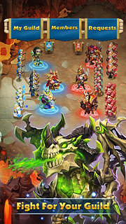 Castle Clash: Brave Squads - snímek obrazovky
