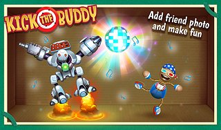 Kick the Buddy - snímek obrazovky