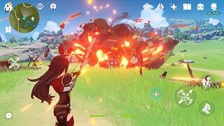 Genshin Impact - snímek obrazovky