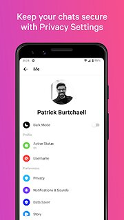 Messenger – Text and Video Chat for Free - snímek obrazovky
