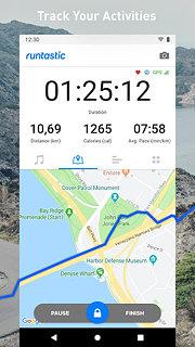 Runtastic Running App & Running Route Planner - snímek obrazovky