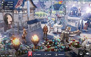 Black Desert Mobile - snímek obrazovky