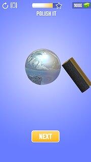 Foil Turning 3D - snímek obrazovky
