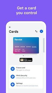Revolut - Get more from your money - snímek obrazovky