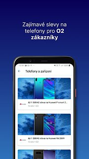 O2 VÝHODY - snímek obrazovky