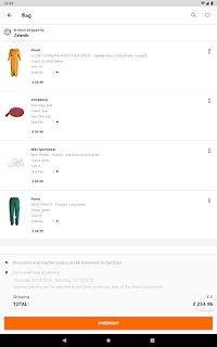 Zalando – Shopping & Fashion - snímek obrazovky