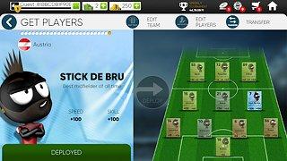 Stickman Soccer 2018 - snímek obrazovky
