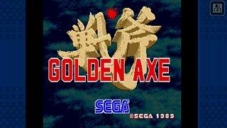 Golden Axe Classics - snímek obrazovky