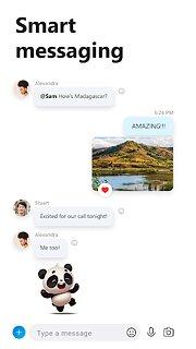 Skype – free IM & video calls - snímek obrazovky