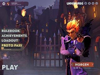 Dota Underlords - snímek obrazovky