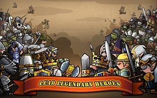 Mini Warriors - snímek obrazovky