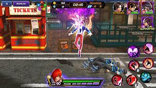 The King of Fighters ALLSTAR - snímek obrazovky