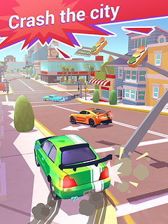 Crash Club - snímek obrazovky