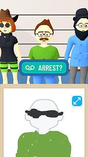 Line Up: Draw the Criminal - snímek obrazovky