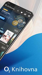 O2 Knihovna - snímek obrazovky