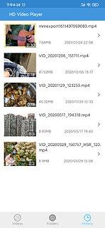 HD Video Player 2021 All Format - snímek obrazovky