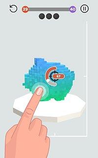 Wrecking Ball - snímek obrazovky