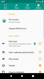 QR & Barcode Reader - snímek obrazovky
