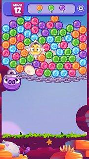 Angry Birds Dream Blast - snímek obrazovky