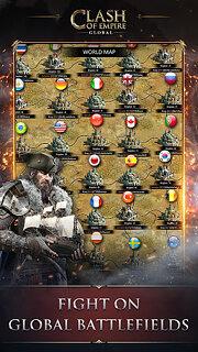 Clash of Empire: Epic Strategy War Game - snímek obrazovky