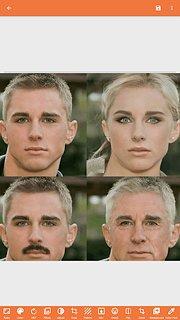 Face App: Gender Changer - snímek obrazovky