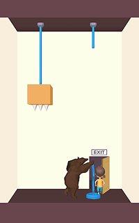 Rescue Cut - Rope Puzzle - snímek obrazovky