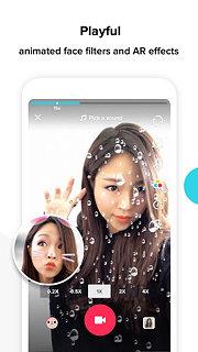 TikTok - including musical.ly - snímek obrazovky