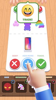 Fidget Toys Trading: fidget trade relaxing games - snímek obrazovky