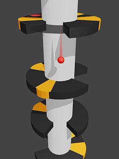 Helix Jump - snímek obrazovky