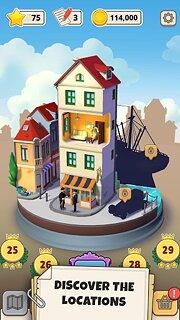 Tintin Match - snímek obrazovky