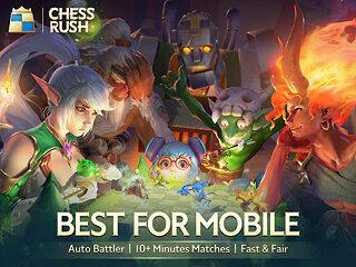 Chess Rush - snímek obrazovky