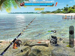 Fishing Clash: Catching Fish Game. Hunting Fish 3D - snímek obrazovky