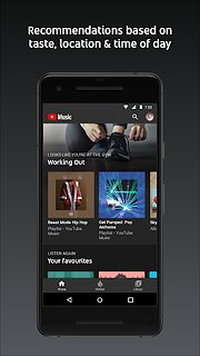 YouTube Music - Stream Songs & Music Videos - snímek obrazovky