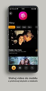 iPrima - snímek obrazovky