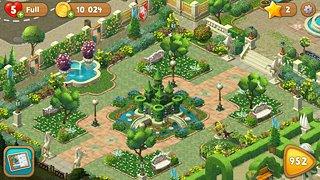 Gardenscapes - snímek obrazovky