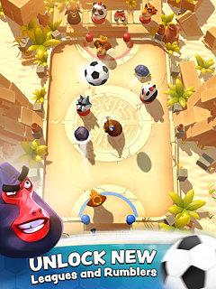 Rumble Stars Football - snímek obrazovky