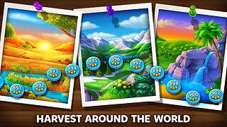 Solitaire Grand Harvest: Free Tripeaks Solitaire - snímek obrazovky