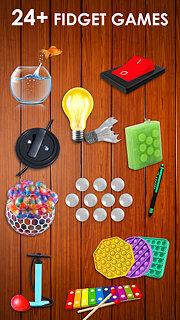Fidget Toys 3D - Fidget Cube, AntiStress & Calm - snímek obrazovky