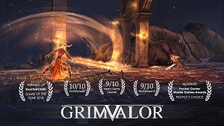 Grimvalor - snímek obrazovky