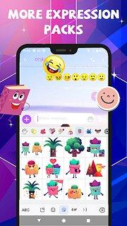 Emoji Assistant SMS - snímek obrazovky