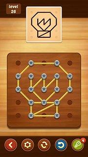 Line Puzzle: String Art - snímek obrazovky