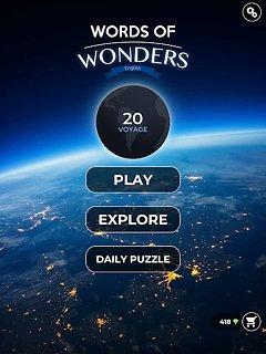Words Of Wonders - snímek obrazovky