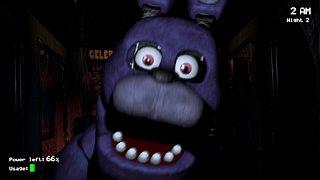 Five Nights at Freddy's - snímek obrazovky