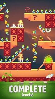 Lemmings - Puzzle Adventure - snímek obrazovky
