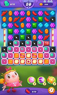 Candy Crush Friends Saga - snímek obrazovky