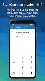 Fio Smartbanking CZ - snímek obrazovky