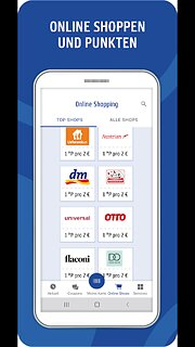 PAYBACK - Das Bonusprogramm mit vielen Partnern - snímek obrazovky