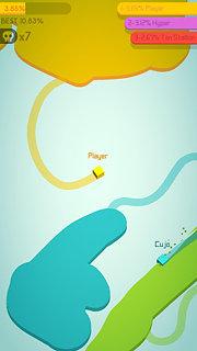 Paper.io 2 - snímek obrazovky